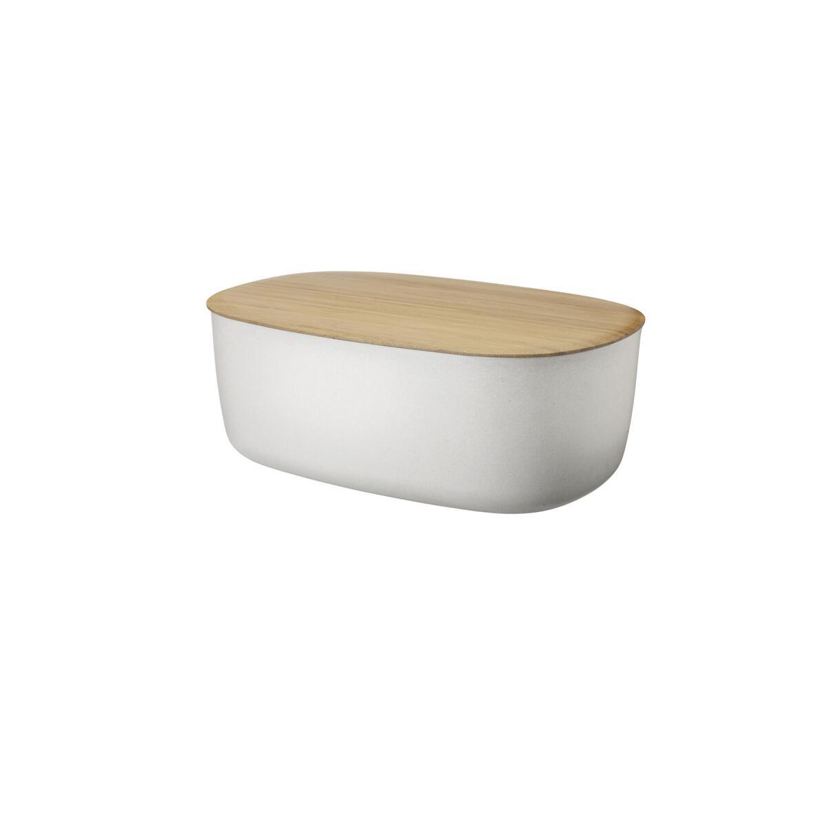 rig tig box it brotkasten mit schneidbrett wei 38. Black Bedroom Furniture Sets. Home Design Ideas